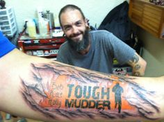 #toughmudder #tattoo #Chicago #art #artist #tatutomrock #armtattoos #colortattoos