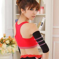 2Pcs Slimmer Massage Muscle Slim Arm Calorie Off Burning Fat Cellulite Buster Burner Thin Arm Wrist Shaper Shapewear Strap Belt