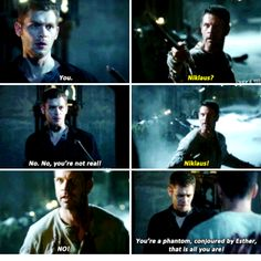 """#TheOriginals 2x06 """"Wheel Inside the Wheel"""" - Klaus and his father"""