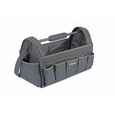 19 In Tool Tote *** Find out more about the great product at the image link. (This is an affiliate link) Woodworking Projects That Sell, Woodworking Shop, Woodworking Crafts, Discount Tools, Harbor Freight Tools, Tool Tote, Workshop Layout, Teacher Bags, Tool Organization