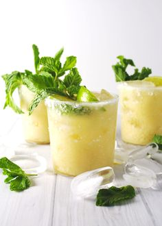 Tangy pineapple shaken with sweet coconut milk makes a summery twist on a classic cocktail. Perfect for poolside sipping, this Pineapple Coconut Margarita is the best of both a pina colada and a margarita with only one hand needed. Coconut Tequila, Coconut Margarita, Pineapple Coconut, Margarita Recipes, Coconut Rum Drinks, Coconut Milk Cocktail, Amaretto Drinks, Summer Drinks, Cocktail Drinks