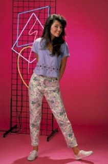 'Save By the bell 90's fashion' so in style now..but it's cute!