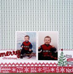 Merry Christmas - Scrapbook.com  Photo Play Paper Dear Santa collection