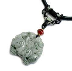 Chinesische Fortune Tiger geschnitzter Jade Amulett Halskette, - Fortune Feng Shui Chinesische Zodiac Schmuck Feng Shui & Fortune Jewelry,http://www.amazon.de/dp/B00DK6068M/ref=cm_sw_r_pi_dp_bNjztb0DD4YFQF6G