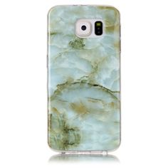 Coque Samsung Galaxy S6 Imprimé Marbre - Vert