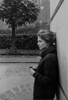 betterhappierinspired:  Arnold Newman, Jean Seberg, 1960
