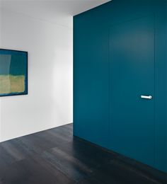 Flush swing door planus quattro tre p tre piu doors pinterest monochrome doors and walls - Porte lualdi rasomuro ...