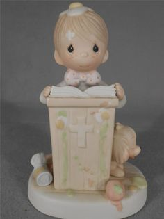 The precious moments figurine-If God Be For Us Who Can Be Against Us