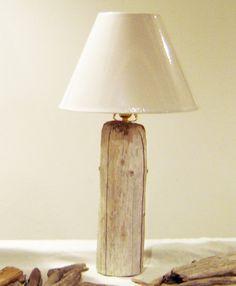 Driftwood Lamp  Beach Decor   Ocean Inspired by DriftwoodBeachArt, $24.00