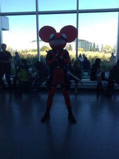 Deadmau5/Deadpool Cosplay. Edmonton Comic & Entertainment Expo 2015.