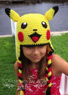 Excited to share the latest addition to my shop: Pikachu Crochet Hat PDF Pattern, Pokemon Go Pattern, Pokemon Hat, Pikachu Cosplay Costume, Halloween Costume Pattern Halloween Costume Patterns, Halloween Kostüm, Sombrero A Crochet, Crochet Beanie, Crochet Hook Sizes, Crochet Hooks, Pokemon Hat, Pokemon Cosplay, Beanie Babies