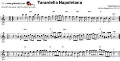 Tarantella Napoletana - flatpicking guitar sheet music