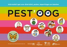 Pest'OOg : informatief spel over diversiteit, pesten, beperkingen en talenten -  Vzw Zinloos Geweld -  plaats spel 433.4