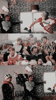 💜🖤 All i wanna know is what happened after that cake hit RM? Foto Bts, Bts Photo, Bts Taehyung, Bts Bangtan Boy, Bts Boys, Jimin Jungkook, Kpop, Bts Spring Day, Bts Group Photos