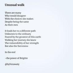 Unusual walk ~ 🏹 – The Chaos Fairy