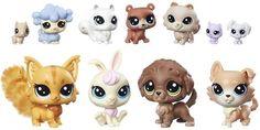 Littlest Pet Shop Velký sběratelský set 11 ks domácí mazlíčci - Herní set
