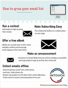 How to Grow Your Email List (Pain Free)
