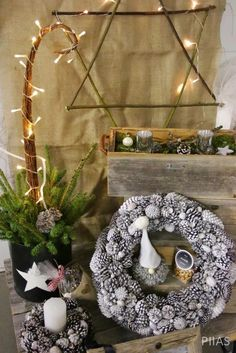 Christmas Crafts, Diy Projects, Table Decorations, Furniture, Dreams, Home Decor, Decoration Home, Room Decor, Home Furnishings