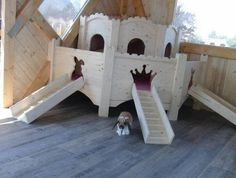 Bunny Castle by: Blissful Bunny, this would be cute to re-do for my Guinea Pigs.