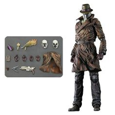 Lindsey's Toy Room - Watchmen Rorschach Play Arts Kai Action Figure, $99.99 (http://www.lindseystoyroom.com/watchmen-rorschach-play-arts-kai-action-figure/)