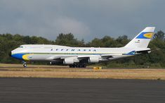 Lufthansa B747-400 retro livery