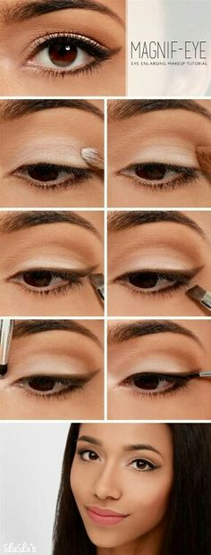 How make your eyes look bigger