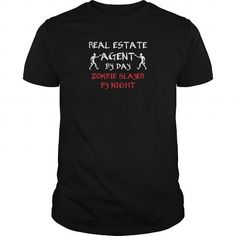 Real Estate Agent   Real estate agent by day zombi