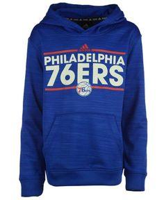 adidas Boys' Philadelphia 76ers Power Play Hoodie