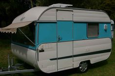 1975 Lite-Weight 1100 Vagabond, 4 berth van built for the small car 1100cc or 1.1ltr engine