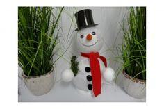 Schneemann-Frosty- aus Acrylkugeln, groß