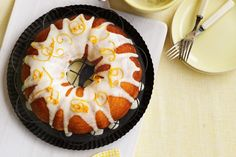 Whole orange cake recipe from Recipes & More website.