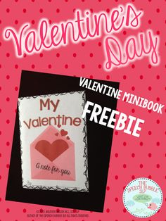 Speechie Freebies: Valentine's Day MiniBook. Pinned by SOS Inc. Resources. Follow all our boards at pinterest.com/sostherapy/ for therapy resources.