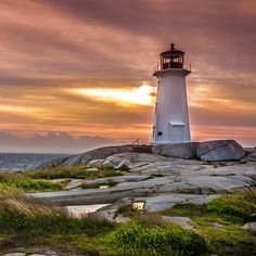 Canada's Maritime Region Offers A Tranquil Seaside Escape Global Real Estate, Flat Earth, Lighthouses, Seaside, Canada, Beach, Lighthouse, Coast