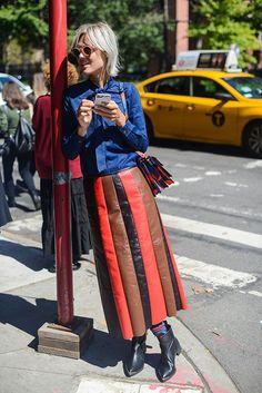 Неделя моды в Нью-Йорке весна-лето 2016: street style. Часть 4 (фото 11)