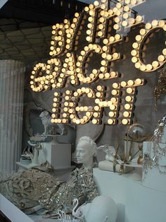 Selfridges window