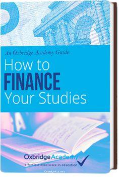 Oxbridge Academy eBook on How to Finance Your Studies