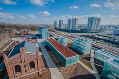 """The Silesian Museum in Katowice is situated in the once industrial downtown of the city including the site of the """"Katowice"""" coal-mine"""