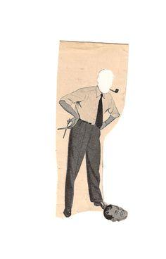 socios | Sociedad de Collage de Madrid. Dada Collage, Collage Art, Collages, Collage Techniques, Photocollage, Stuff And Thangs, People Art, Illustrations, Paper Art