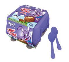 Milka - oeufs coque au lait et gros oeuf mini eggs - concours