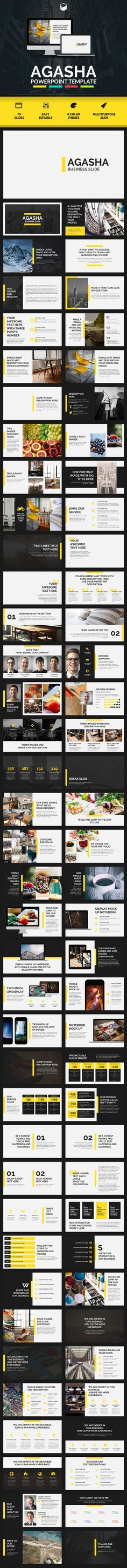 AGASHA - PowerPoint Template (PowerPoint Templates)