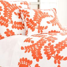 The Outlet   Erika Persimmon Duvet Cover