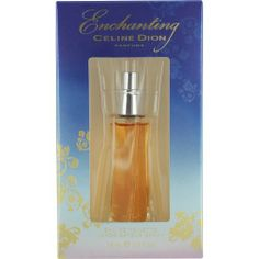 Celine Dion Enchanting Eau De Toilette Spray for Women, 0.5 Ounce by Celine Dion. $9.98. Fragrance Notes: amber, red berries, sandalwood, gardenia, osmanthus, orchid, tonka bean, freesia. Recommended Use: romantic. Design House: Celine Dion. When applying any fragrance please consider that there are several factors which can affect the natural smell of your skin and, in turn, the way a scent smells on you.  For instance, your mood, stress level, age, body chemi...