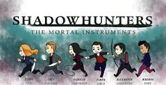 Shadowhunters ... From the hands off umkasandiary ... shadowhunters, alexander 'alec' lightwood, magnus bane, the mortal instruments, malec, jace herondale, clarissa 'clary' fray, simon lewis, isabelle lightwood