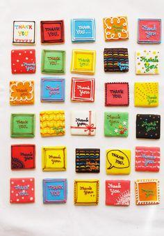 lots of thanks w/ sugar cookies