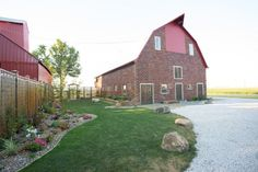 Get hitched in the most beautiful barn you've ever seen.   #kellerbrickbarn #barnwedding