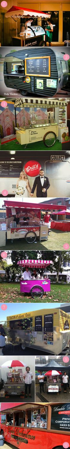 Carting it Around – Delicious Wedding Food Carts & Trucks
