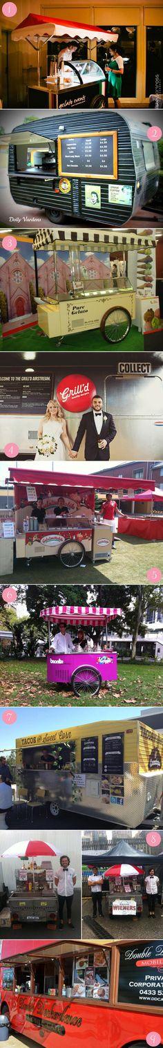 Carting it Around – Delicious Wedding Food Carts & Trucks