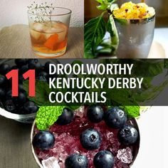 Make these Kentucky Derby cocktails