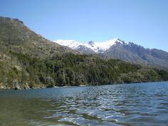 Desde la orilla del Epuyén (Chubut)