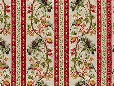 Brunschwig & Fils LE LAC BORDER LINEN PRINT CREAM BR-71165.015 - Brunschwig & Fils - Bethpage, NY, BR-71165.015,Brunschwig & Fils,Print,Beige,S,Up The Bolt,Botanical/Foliage,Multipurpose,USA,Yes,Brunschwig & Fils,No,LE LAC BORDER LINEN PRINT CREAM